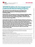 ESC Guidelines Pregnancy 2018 1